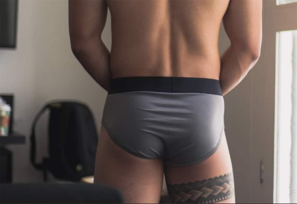 Man in Living Wear pants