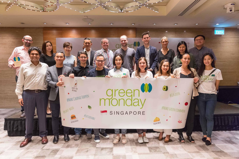 Green Monday Singapore David Yeung