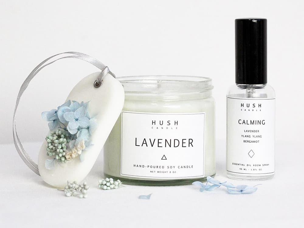 Conscious Christmas gift: Hush candle