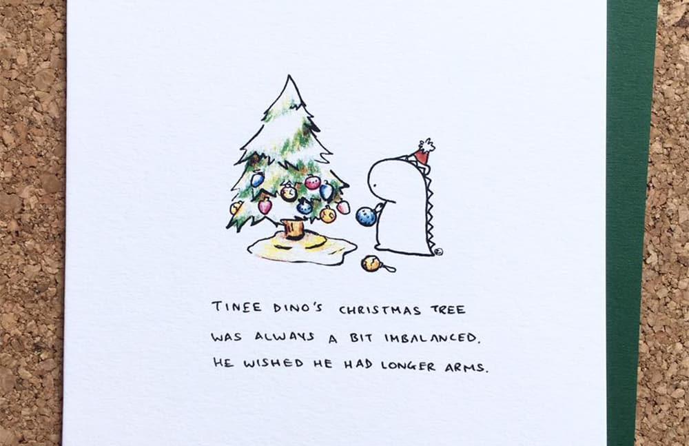 Conscious Christmas gift: card