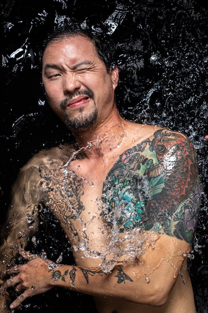 Bjorn Low in water