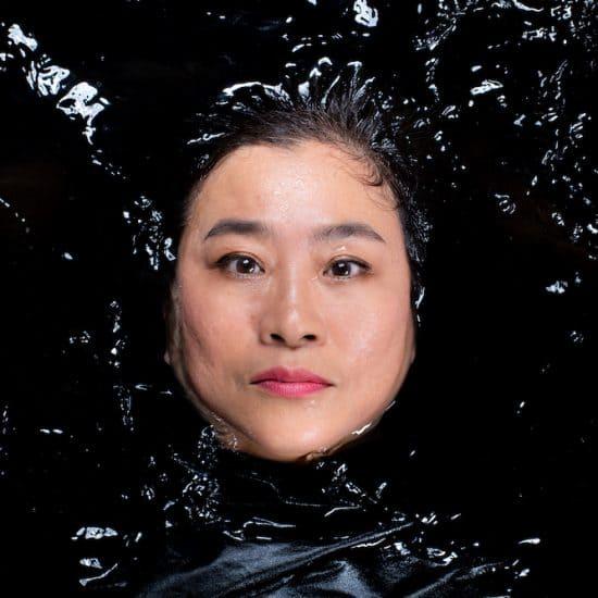 Teresa Guttensohn in water