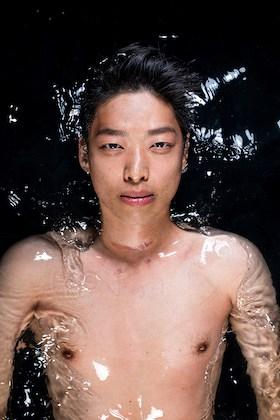 Phillipe Li in water