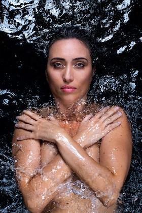 Rebecca Cappelli in water