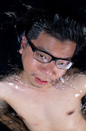Renard Siew in water