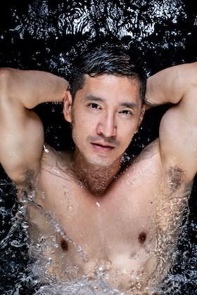 Richie Kul in water