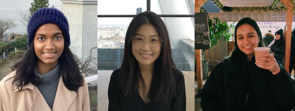 Three Asian girls