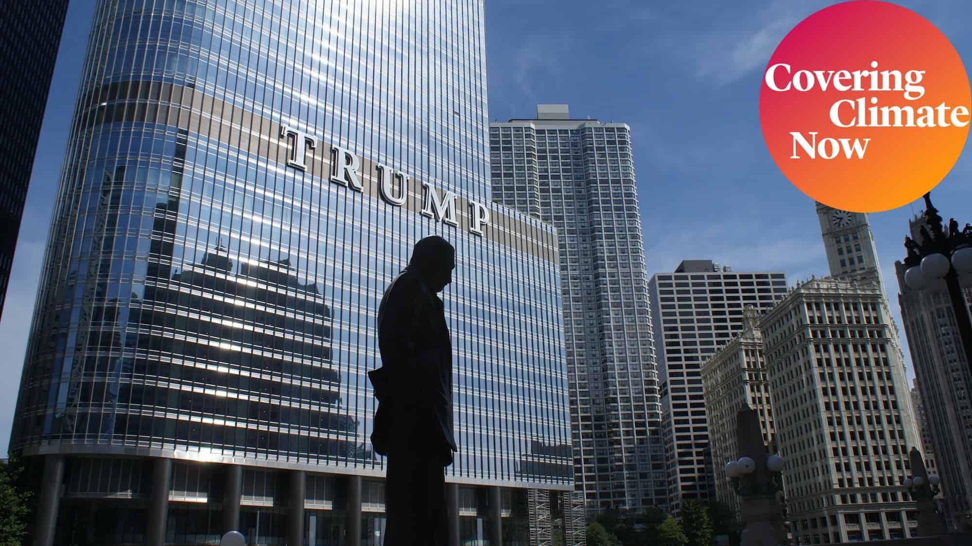 Donald Trump building