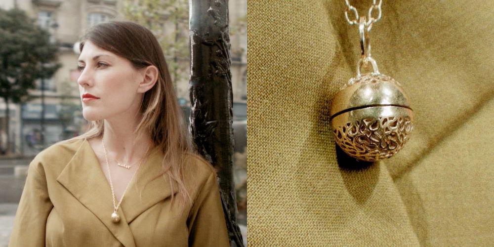 Caleigh Megless Schmidt wearing Cahana Jewellery