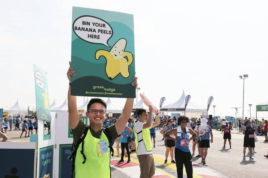 Singapore journey Through a Green Purpose
