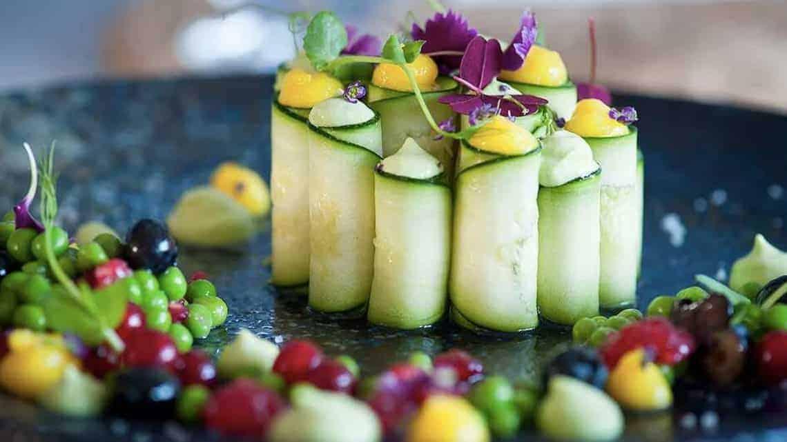 vegan fine dining