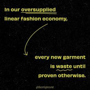 The OR Foundation oversupplied fashion economy